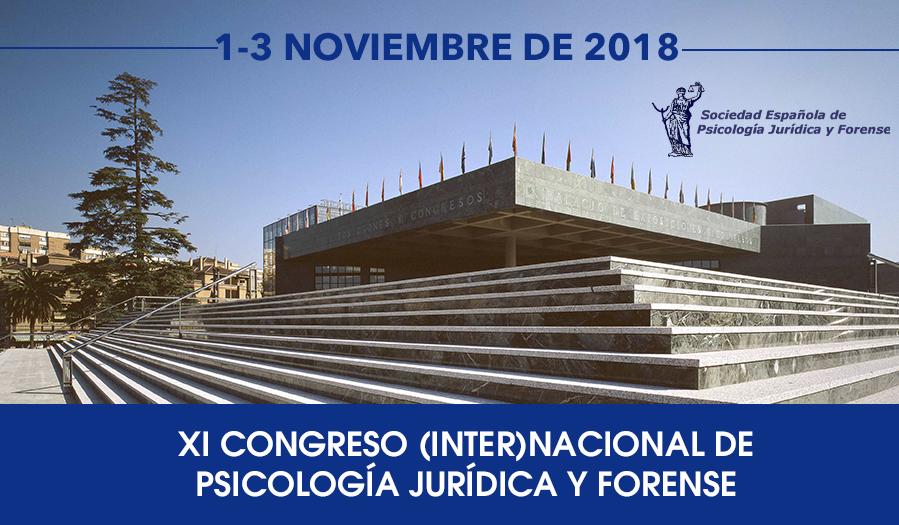 XI CONGRESO (INTER)NACIONAL DE PSICOLOGÍA JURÍDICA Y FORENSE