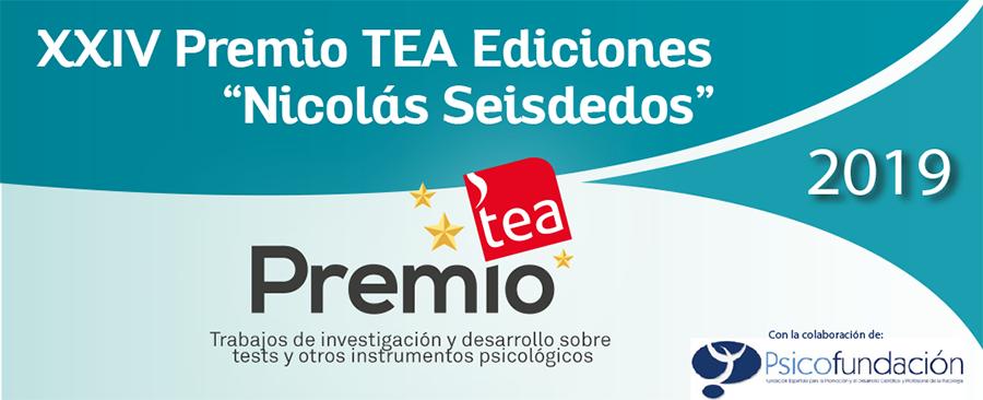 """Abierta convocatoria XXIV Premio TEA Ediciones """"Nicolás Seisdedos"""" #PremioTEAEdiciones #Psicología"""
