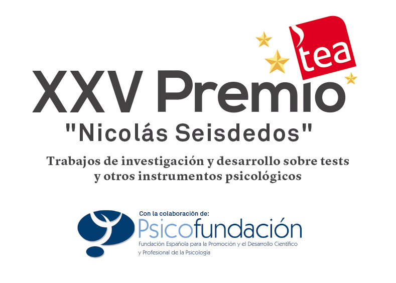 """Abierta convocatoria XXV Premio TEA Ediciones """"Nicolás Seisdedos"""" #PremioTEAEdiciones #Psicología"""