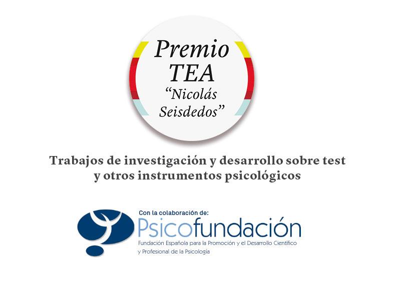 """Abierta convocatoria XXVI Premio TEA Ediciones """"Nicolás Seisdedos"""" #PremioTEAEdiciones #Psicología"""