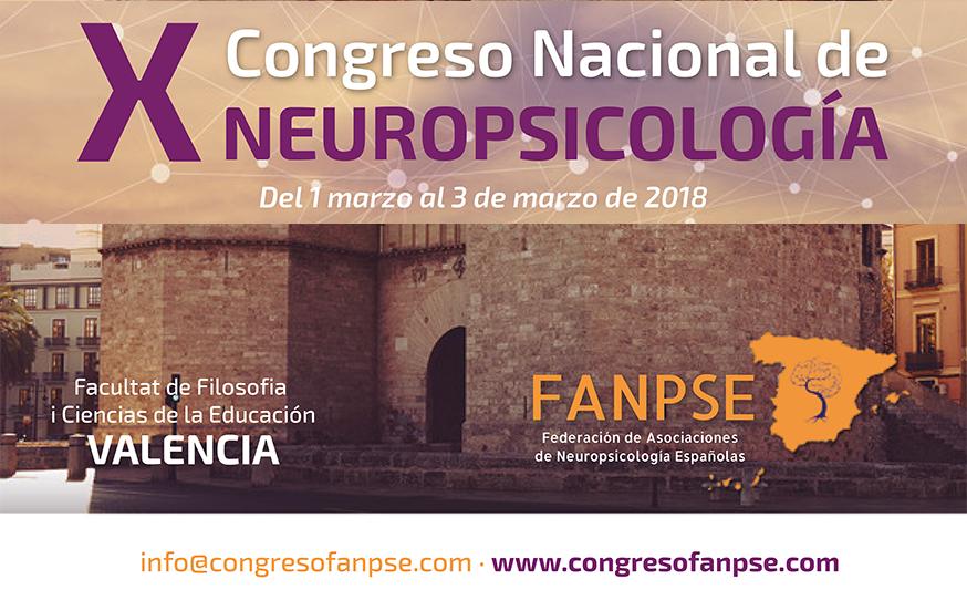 X CONGRESO DE NEUROPSICOLOGÍA - FANPSE