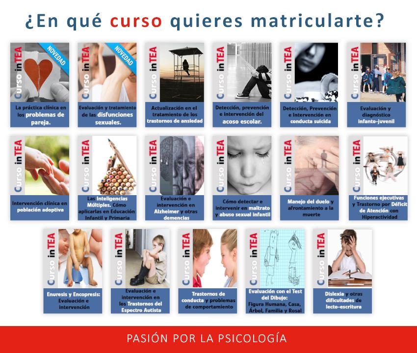 inTEA Cursos online psicología