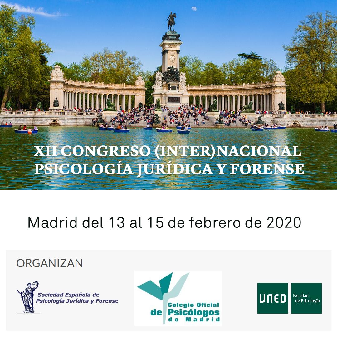 XII Congreso (Inter) Nacional Psicología Jurídica y Forense