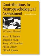 Benton Laboratory of Neuropsychology: Selected Tests
