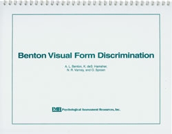 Benton Visual Form Discrimination
