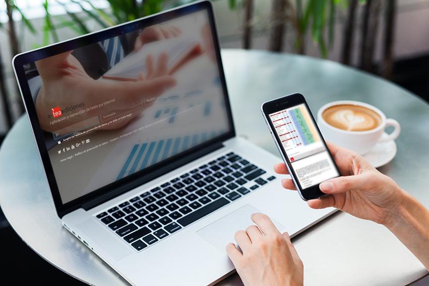 Sistema para la aplicación y corrección online de test - e-teaediciones