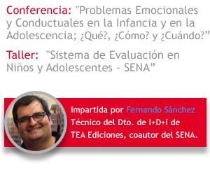 TEA Ediciones - Conferencia y Taller Fernando Sánchez en el CONGRESO INTERNACIONAL SER HUMANO