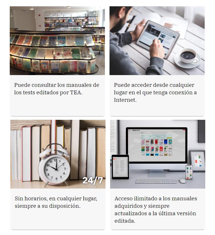 Portal de manuales online de TEA Ediciones