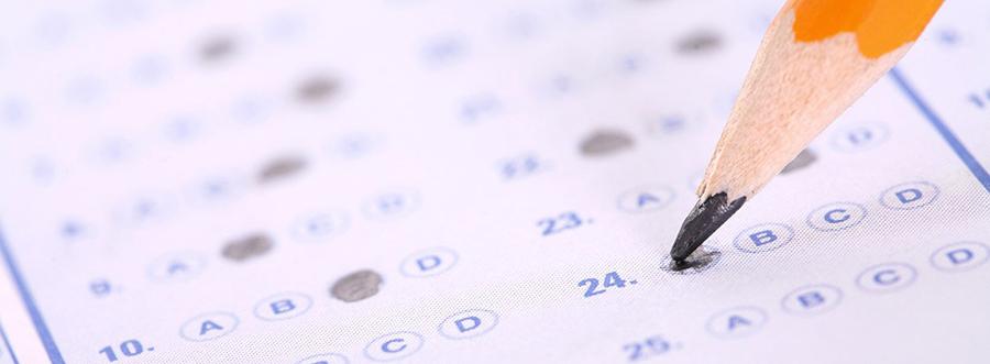 Marcado de respuestas tests