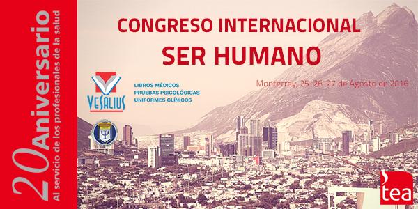 Vesalius Congreso Ser Humano Agosto 2016