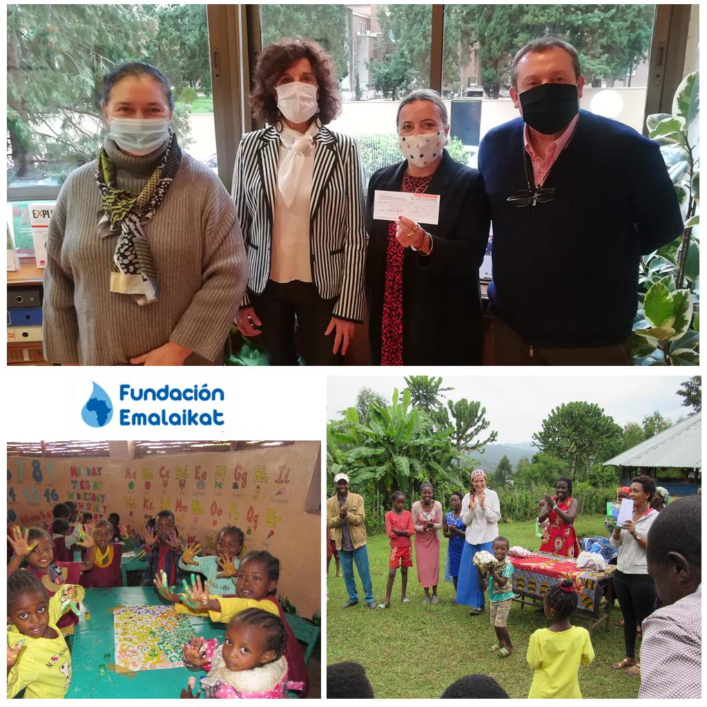 Acto de entrega de la Ayuda 2020 a Fundación Emalaikat y su proyecto de Mejora de la Nutrición Infantil y Educación Preescolar en la Unidad Nutricional en Gacheb, Etiopía