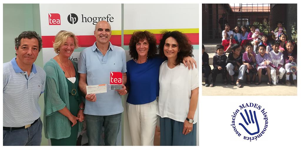 Acto de entrega de la Ayuda 2019 a la Asociación MADES Hispanoamérica