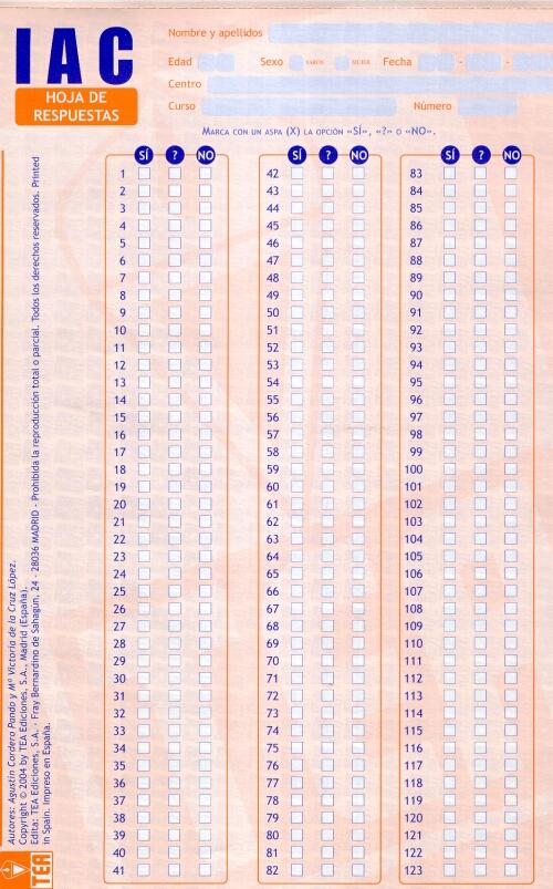 TEA Ediciones - Historia - Evaluación Psicológica, tests ...