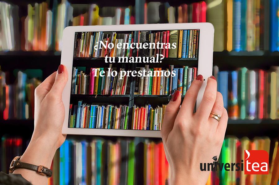 Compartimos los manuales que necesites para que los consultes y estudies desde casa de manera online.