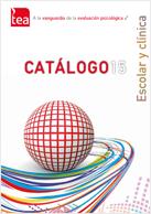 Catálogo Escolar y Clínica TEA Ediciones