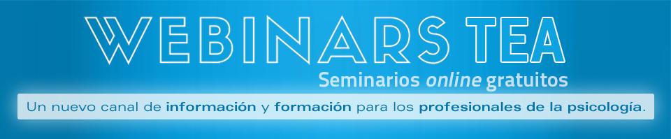 Webinar de TEA Ediciones - Seminarios online